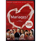 Mariages! (French ONLY Version - With English Subtitles) 2004 (Widescreen) Régie au Québec