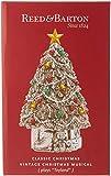 Reed & Barton 878277 Vintage Christmas Musical Box