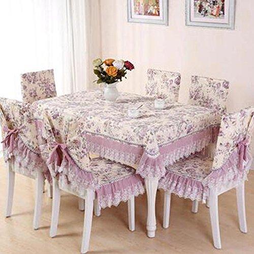 Europ che hochwertigem Stoff, Sitzkissen, Tischkissen, Sitzbezug-Sets,15020cm   Slightly Blooming Light lila