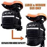 BV Bicycle Strap-On Bike Saddle Bag/Seat