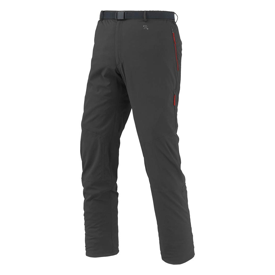 Marron asphalte XXL Trangoworld Elster Pantalons Longs