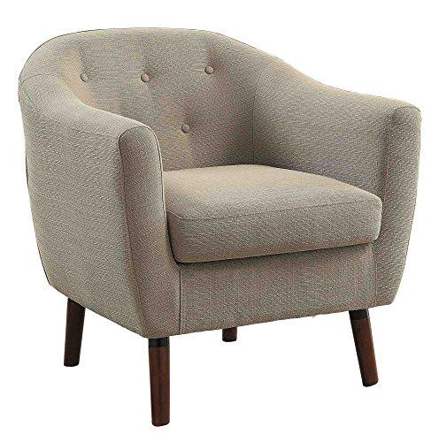 Top Cream Accent Chair Aralu Reviews