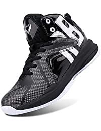 newest d5787 29422 Kid s Basketball Shoes High-Top Sneakers Outdoor Trainers Durable Sport  Shoes(Little Kid
