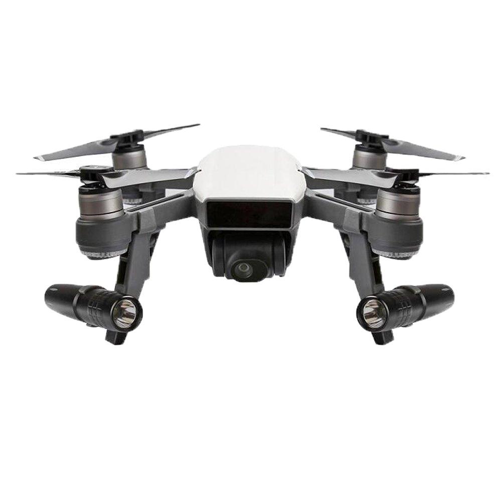 Haodasi Landing Landing Landing Gear Höhe Extender Stabilisator+LED Nachtlicht Scheinwerfer Kit für DJI Spark Drohne Modell 1 d6ab41