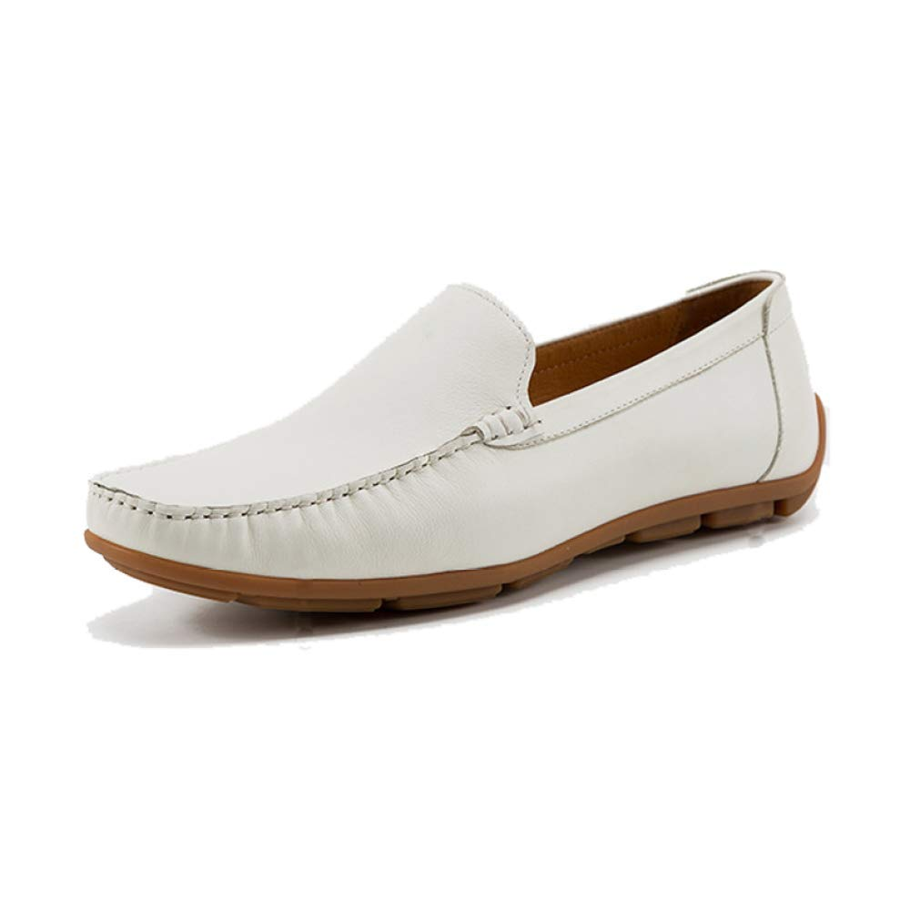 YCGCM Herrenschuhe Casual Top British Retro Breathable Leichte Bequeme Niedrig Top Casual Schuhe Weiß 6471c1