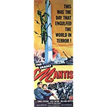 The Deadly Mantis POSTER Movie (14 x 36 Inches - 36cm x 92cm) (1957) (Insert Style A)