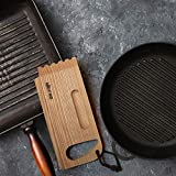 Mr.Art Wood BBQ and Grill Wooden Scraper Tool, Size