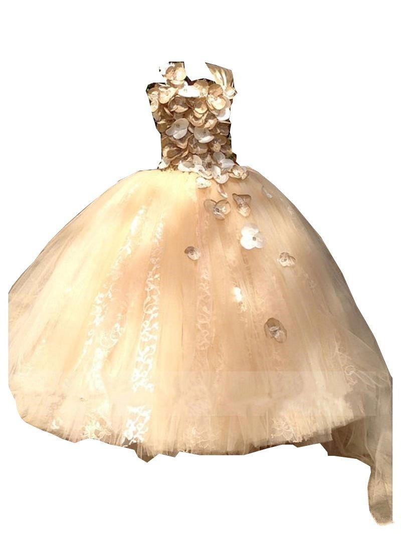Kelaixiang Formal Princess Birthday Ball Gown Dress For Girls (2) by Kelaixiang