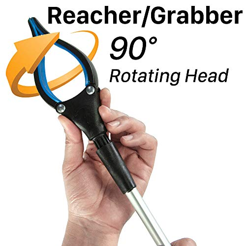 """Walensee Grabber Tool, 32"""" Foldable Grabber Reacher Tool for Elderly, Reacher Tool, Trash Picker Grabber, Reacher Grabber, Long Grabber, Litter Picker, Garden Nabber, Reaching Assist Tool (2 PACK) by Walensee (Image #5)"""