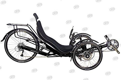 Performer JC26X Recumbent Trike 27 Speed FRP (Black)