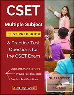 ~ONLINE~ CSET Multiple Subject Test Prep Book & Practice Test Questions For The CSET Exam. using products Rouse maxima Valvulas