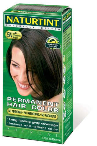 Постоянный Цвет волос - 5N, светло-каштановый Brown, 5,45 унции (6 шт)