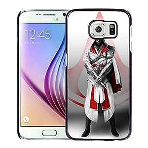 Samsung Galaxy S6 Edge case, Assassins Creed Desmond Miles Assassins Symbol Knifes Hood Samsung Galaxy S6 Edge phone case