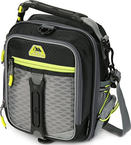 Arctic Zone 44-69171-00-08 Pro High Performance Dual Compartment Insulated Lunch Pack, Black/Lime