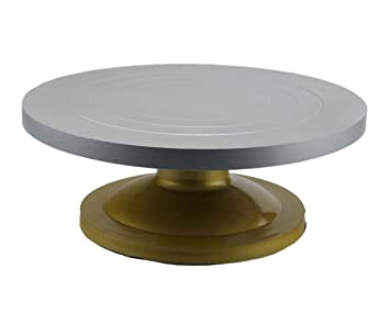 Cake Turn Table Round / Cake Stand Revolving Rotating / Cake Server    12inches