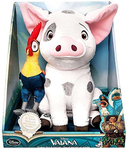 Disney Moana Pua and Hei Hei Talking Plush Set
