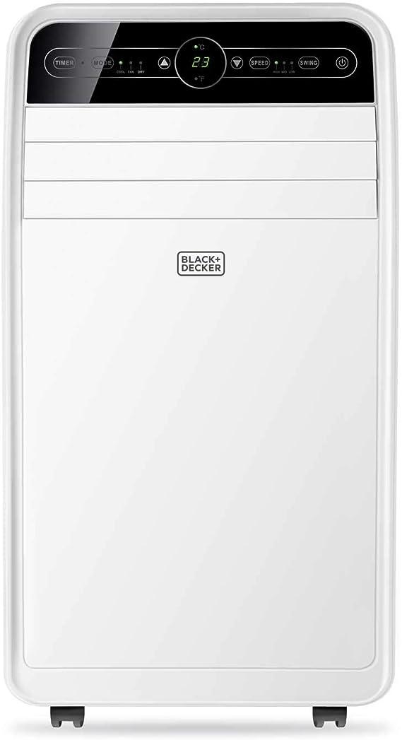 Black + Decker – BXAC9001E Aire acondicionado portátil silencioso ...