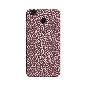 Cover It Up - Brown Purple Pebbles Mosaic Redmi 4 Hard Case