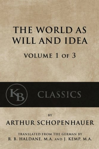 The-World-As-Will-And-Idea-Vol-1-of-3