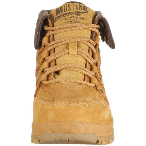 66 Boots Giallo 4015 uomo 552 Herre Camel Stivali Mustang q7O0Sx