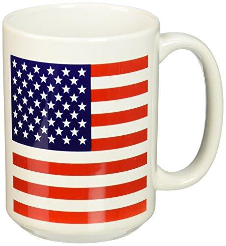 3dRose mug 112805 2 American Patriotic 15 Ounce
