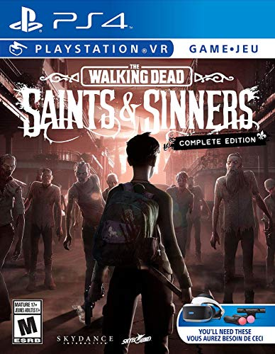 The Walking Dead: Saints & Sinners – The Complete Edition (PSVR) – PlayStation 4