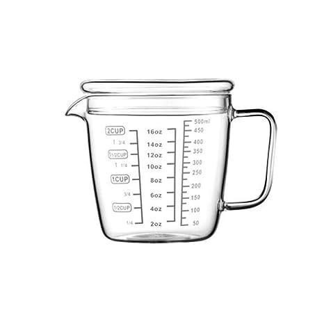 Compra YXIAOn Taza de medición, taza de medición de vidrio ...