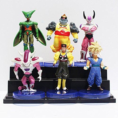 Dragon Ball Z Figures Dragonball Freezer Son Goku Cell Dr.Gero Son Gohan PVC Figure Toys 6Pcs/set