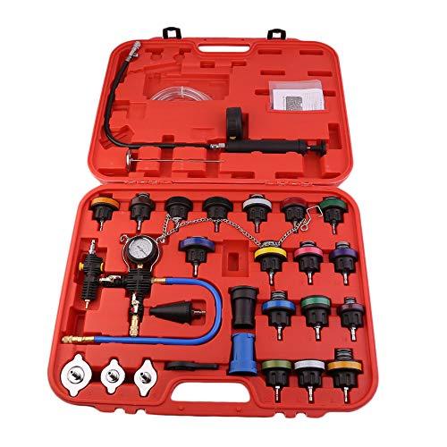 Homgrace 28pcs Car Radiator Pressure Tester Kit Universal Vacuum Type Coolling System