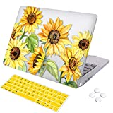 DQQH MacBook Pro 13 inch case,Plastic case & Keyboard Cover,Only Compatible MacBook Newest Pro 13 inch case 2018 2017 2016 ... (MacBook Newest Pro 13' A1706/A1989/A1708/A2195, Sunflowers)
