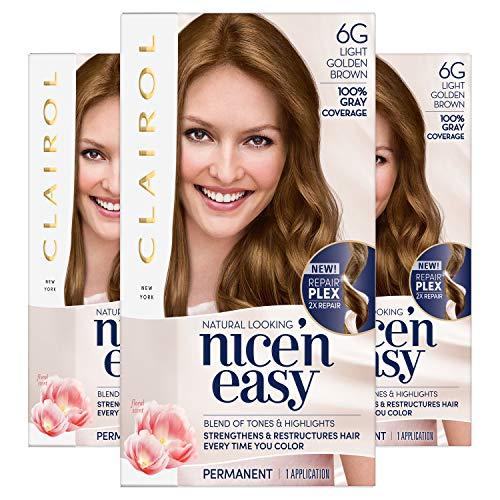 Clairol Nice'N Easy Crème 6G Light Golden Brown (3 ()
