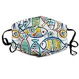 Ubnz50X Solarium Outdoor Cast Seaside Cotton Mouth Masks,Anti-dust Face Mask for Women and Men