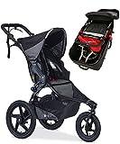 BOB Revolution Pro Stroller With Travel Bag Bundle (Black)
