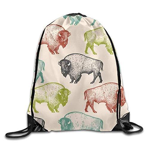 db1f2b320b31f Horse Head Print Drawstring Backpack Rucksack Shoulder Bags Gym Bag Sport  Bag