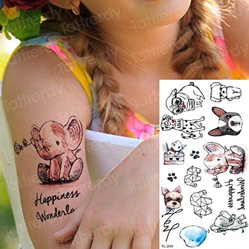 tzxdbh Tatuajes Infantiles Tatuajes temporales en el Cuerpo ...