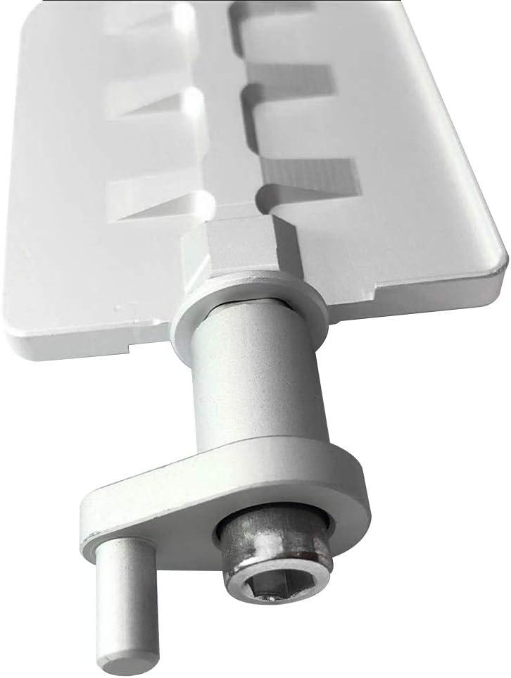 7 Series X3 X5 Z3 Z4 DISA M54 2.2 2.5 Raccords de vanne dadmission Fit pour B MW 3//5 KKmoon Kit R/éparation de Vannes de Reconstruction Aluminium