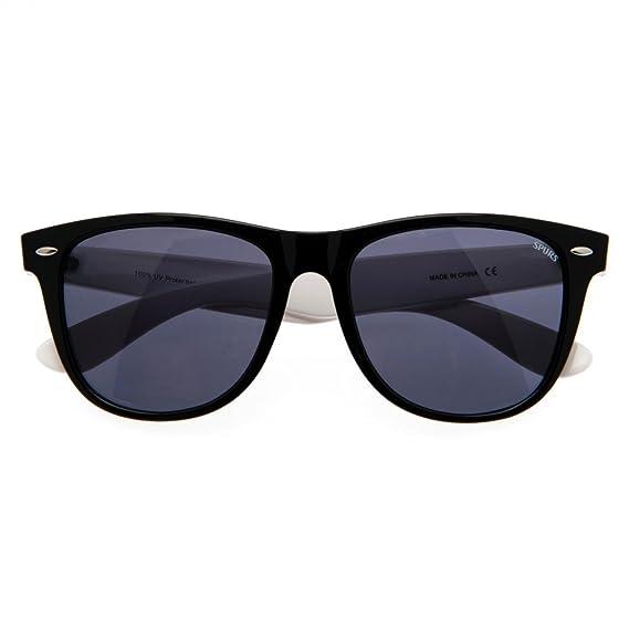 Unisex Wayfarer Sonnenbrille mit Tottenham Hotspur FC Design (Einheitsgröße) (Schwarz/Weiß) 0TlcRv6H