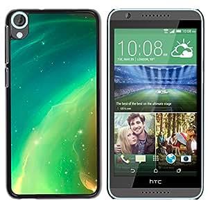 Stuss Case / Funda Carcasa protectora - Electric Green Earth - HTC Desire 820
