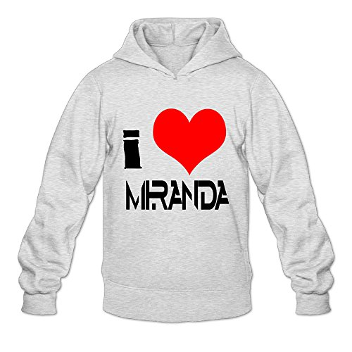 AK79 Men's Hoodies I Love Miranda Sings Size M (Sarah Bible Costume)