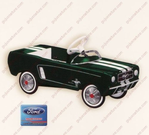 Hallmark Keepsake Ornament 1964 1/2 Ford Mustang Limited Quantity 2007 Repaint