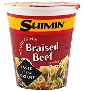 Suimin Cup Noodle, Braised Beef, 70g
