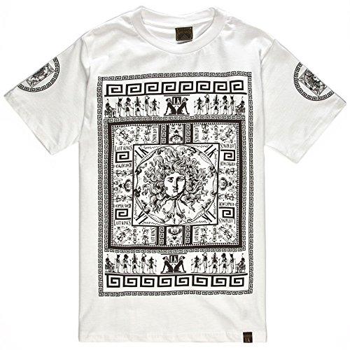 LAST KINGS The Rhyme Mens T-Shirt, White, Small