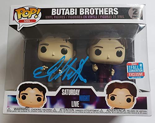 Chris Kattan autographed Funko Pop Doug Butabi Figure SNL A Night at the Roxbury