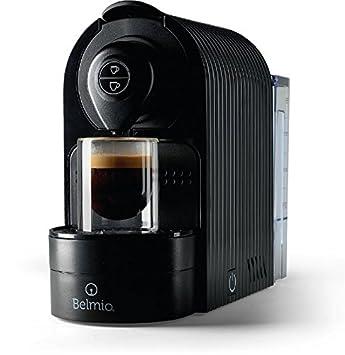 belmio Bravissima Espresso máquina de café, compatible con Nespresso cápsulas Onyx Black: Amazon.es: Hogar
