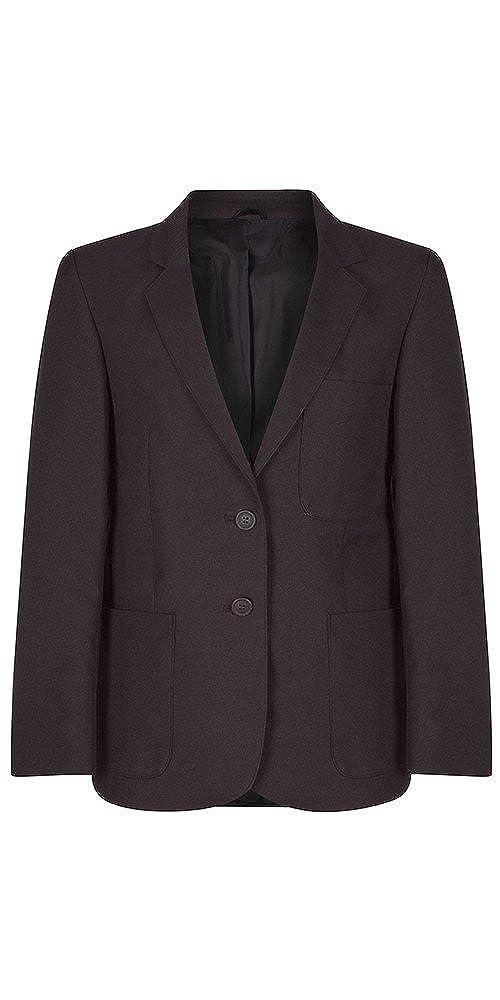 Girls Brown Polyester School Blazer 71cm = 28