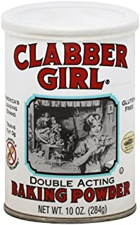 product image for Clabber Girl Baking Powder, 8.1 Ounce Cans (Pack of 12)