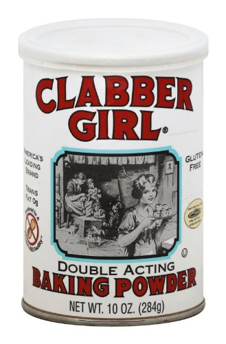 Clabber Girl Baking Powder, 8.1 Ounce Cans (Pack of 12)