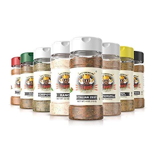 #1 Best-Selling 5oz. Flavor God Seasonings - Gluten Free, Low Sodium, Paleo, Vegan, No MSG( Speciality Combo)
