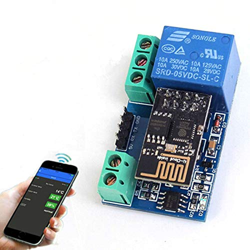 ESP8266 5V WiFi Relay Module Remote Control Switch Phone APP for Smart Home IOT Transmission Distance 400m