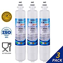 (3 PACK) Golden Icepure G RWF3600A Water Filter Compatible With GE RPWF,WSG-4